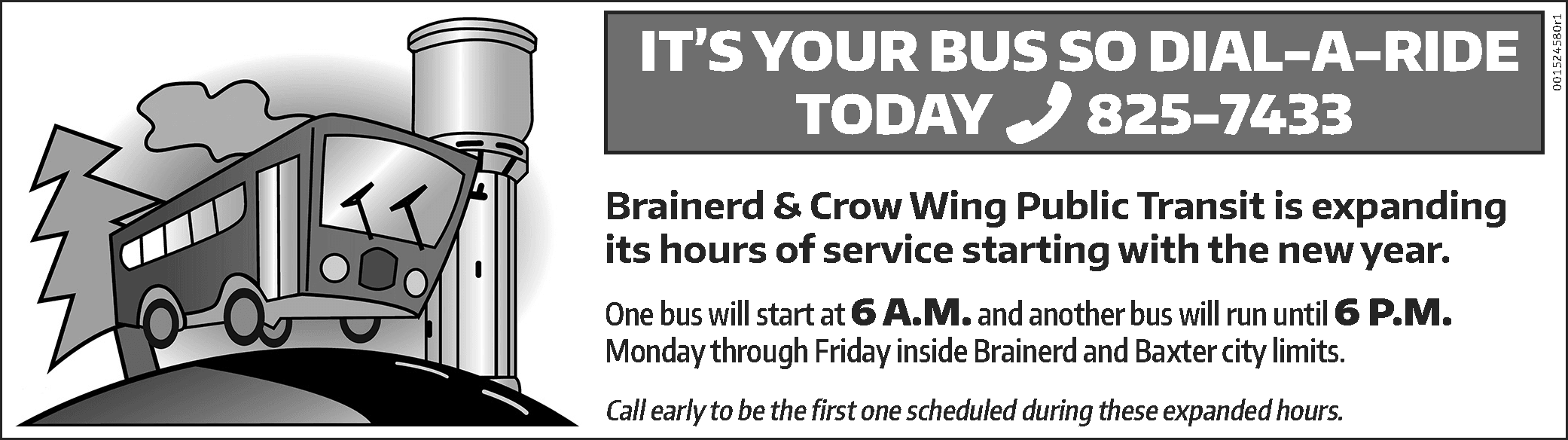Expanded hours of service 6am to 6pm