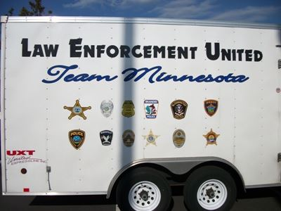 Law Enforcement United Team Minnesota Trailer
