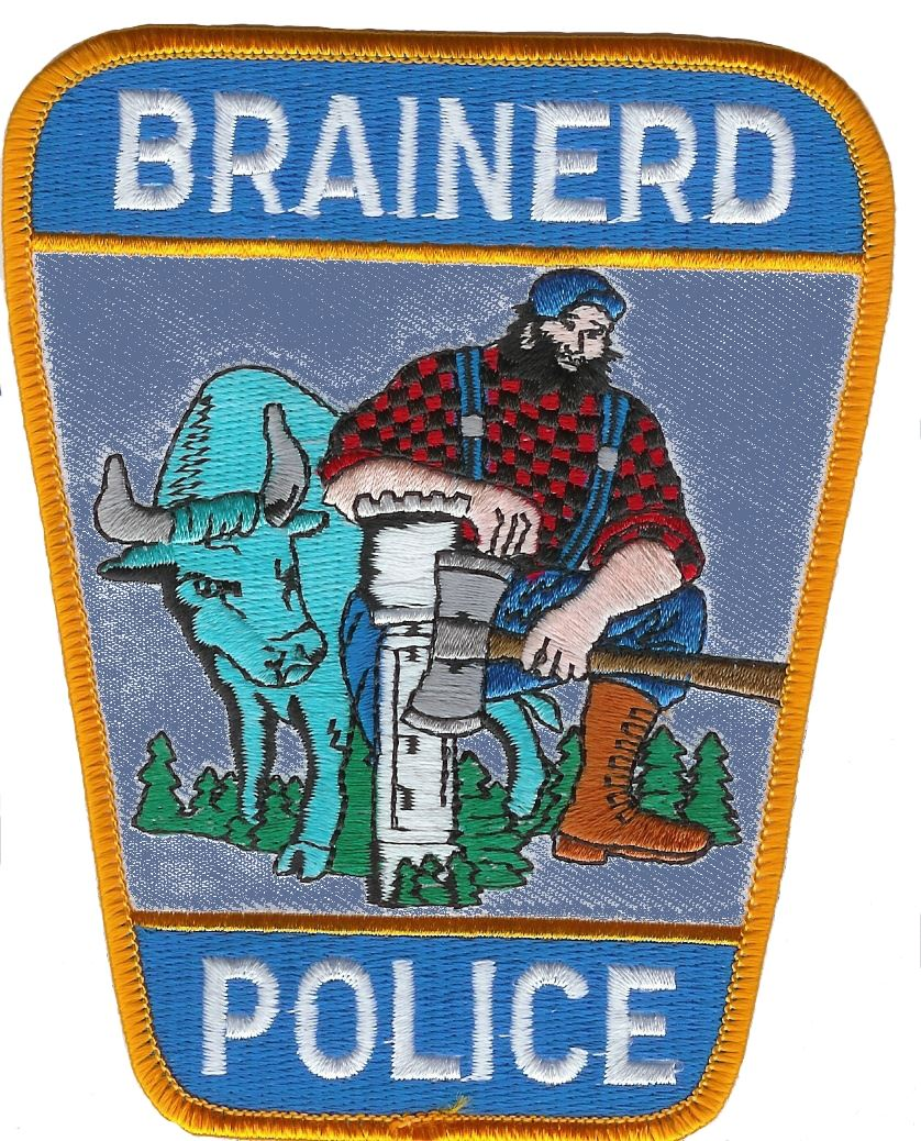 Brainerd Police Department Patch