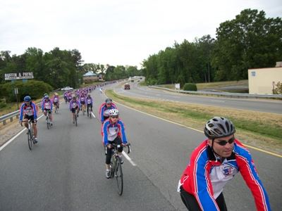 Law Enforcement United Team Minnesota Riders on Day 2